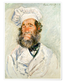 Póster  The chef - Claude Monet