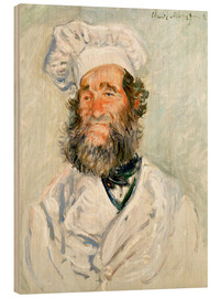 Madera  The chef - Claude Monet
