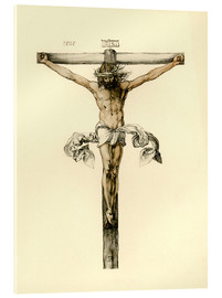 Cuadro de metacrilato  Christ on Cross - Albrecht Dürer