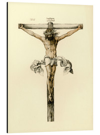 Cuadro de aluminio  Christ on Cross - Albrecht Dürer