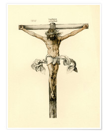 Póster Christ on Cross