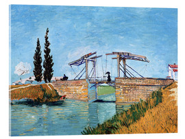 Metacrilato  The drawbridge in Arles - Vincent van Gogh