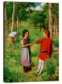 Lienzo  The Woodman's Daughter - Sir John Everett Millais