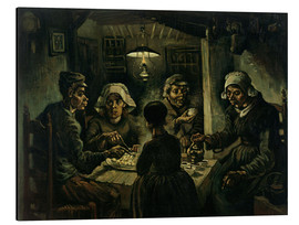 Cuadro de aluminio  The Potato Eaters - Vincent van Gogh