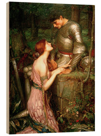Cuadro de madera  Lamia - John William Waterhouse