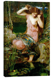 Lienzo  Lamia - John William Waterhouse