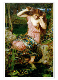 Póster  Lamia - John William Waterhouse