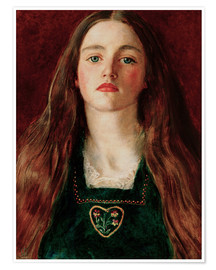 Póster  Sophie Gray - Sir John Everett Millais
