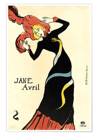 Póster Jane Avril