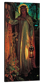 Aluminio-Dibond  La luz del mundo - William Holman Hunt