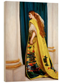 Cuadro de madera  Esther - Sir John Everett Millais