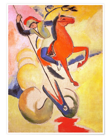 Póster  Saint George - August Macke