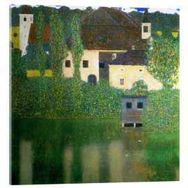 Cuadro de metacrilato  Castle chamber on the Attersee I - Gustav Klimt