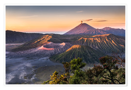 Póster  Mount Bromo Sunrise - Andreas Wonisch