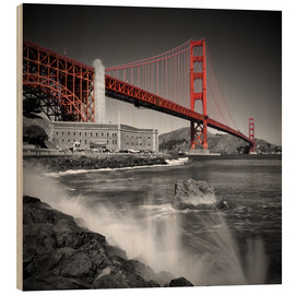 Madera  Golden Gate Bridge Fort Point - Melanie Viola
