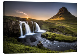 Lienzo  Fair Tyle Countryside in Iceland - Andreas Wonisch