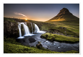 Póster  Fair Tyle Countryside in Iceland - Andreas Wonisch