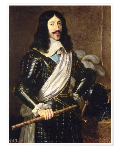 Póster Louis XIII
