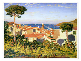 Póster  Collioure, 1911 - James Dickson Innes
