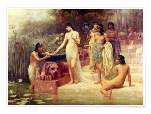 Póster Pharaoh's Daughter - The Finding of Moses