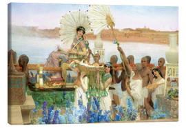 Lienzo  The Finding of Moses by Pharaoh's Daughter - Lawrence Alma-Tadema