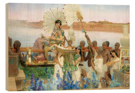 Cuadro de madera  The Finding of Moses by Pharaoh's Daughter - Lawrence Alma-Tadema