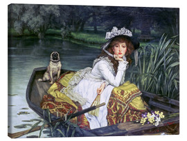 Lienzo  Reflections - James  Tissot