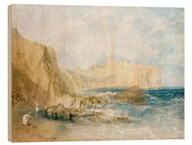 Cuadro de madera  Scarborough - Joseph Mallord William Turner
