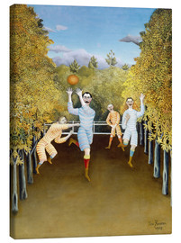 Lienzo  the football players - Henri Rousseau
