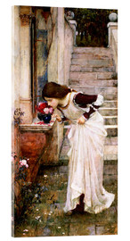 Cuadro de metacrilato  El santuario - John William Waterhouse