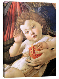 Lienzo  Christ Child from the Madonna of the Pomegranate - Sandro Botticelli