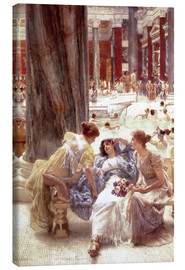 Lienzo  The Baths of Caracalla - Lawrence Alma-Tadema