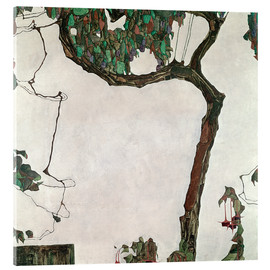 Metacrilato  Autumn tree - Egon Schiele