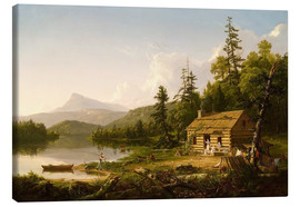 Lienzo  Home in the Woods - Thomas Cole