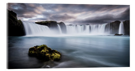 Metacrilato  Godafoss Waterfall in Iceland - Andreas Wonisch