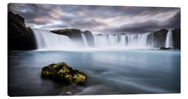Lienzo  Godafoss Waterfall in Iceland - Andreas Wonisch