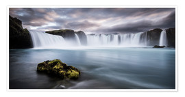 Póster  Godafoss Waterfall in Iceland - Andreas Wonisch