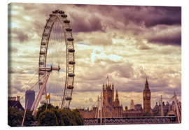 Lienzo  London Eye & Big Ben - Stefan Becker