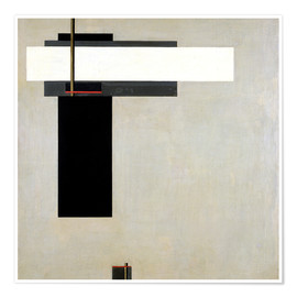 Póster  Composition Proun GBA 4 - El Lissitzky