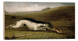 Madera  Hare Coursing in a Landscape, 1870 - John Fitz Marshall