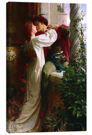 Lienzo  Romeo and Juliet, 1884 - Sir Frank Dicksee