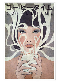 Póster  Coffee Time - Kuba Gornowicz