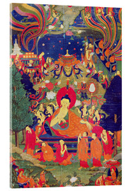 Cuadro de metacrilato  Thangka of Parinirvana of the Buddha - Tibetan School