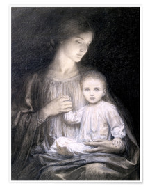 Póster Mother and Child, c.1920