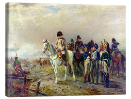 Lienzo  The Turning Point at Waterloo - Robert Alexander Hillingford