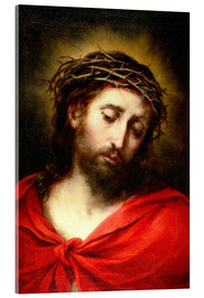 Cuadro de metacrilato  Ecce Homo, or Suffering Christ - Bartolome Esteban Murillo