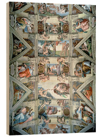 Madera  Sistine Chapel ceiling and lunettes - Michelangelo