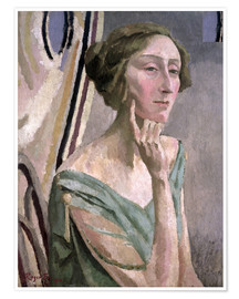 Póster Portrait of Edith Sitwell , 1915