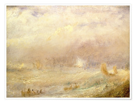 Póster  View of Deal - Joseph Mallord William Turner