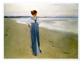 Póster  The Seashore - William Henry Margetson